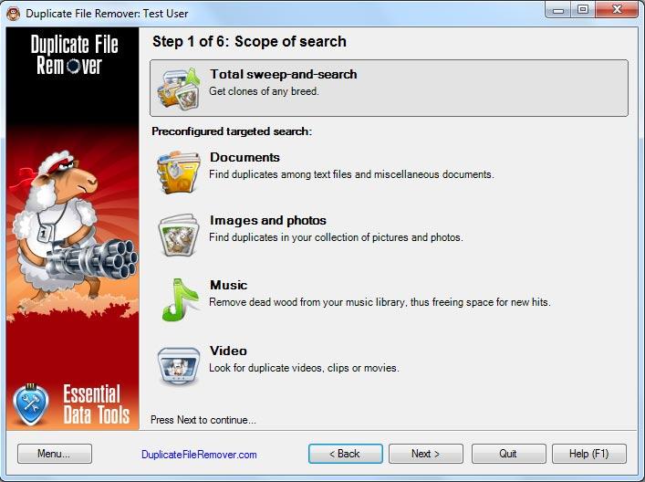 حذف الملفات المكرره فى جهازك مع Duplicate File Remover 3.1