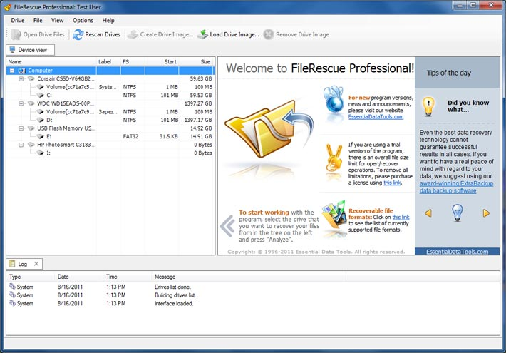 Filerescue pro