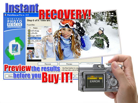 Object Rescue - your digital rescue team. File recovery tools.