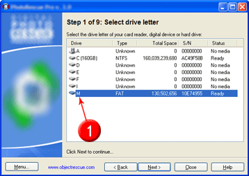 how to select drive letter